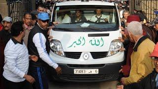 getlinkyoutube.com-بالفيديو: تشييع جثمان الطيب الصديقي في جنازة مهيبة بحضور مستشاري الملك