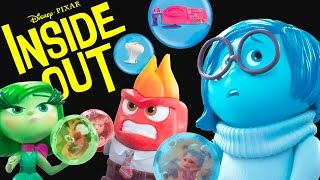 getlinkyoutube.com-NEW INSIDE OUT TOYS from the Disney Pixar Summer Movie Console Joy Sadness Anger Disgust Fear PLP TV