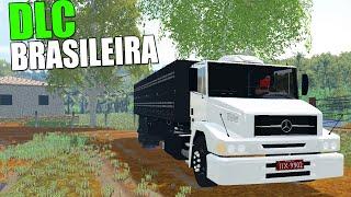 getlinkyoutube.com-Farming Simulator 2015 - DLC Brasileira #02 Caminhão Mercedes Benz  - Foguinho