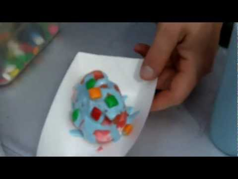How to make deep-fried bubble gum