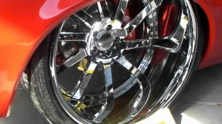 getlinkyoutube.com-DUBSandTIRES.com 1969 Chevy camaro Review Staggered 20'' 22'' Chrome Vossen Wheels Asanti