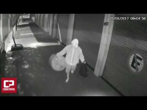 Em Goioerê, nem as lâmpadas externas das lojas estão livres de furto