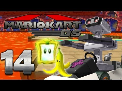 Let's Play Mario Kart DS Part 14: Bananen Cup Spiegel Modus