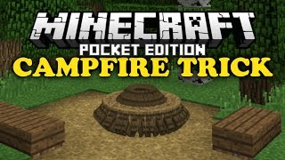 getlinkyoutube.com-✔ Campfire Trick - Minecraft PE