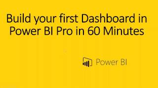 getlinkyoutube.com-How to build your first Power BI Dashboard in 60 Min  with Wes Springob