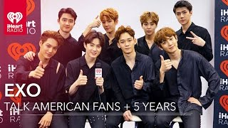 EXO on American Music + Inspiration to Fans   Exclusive Interview