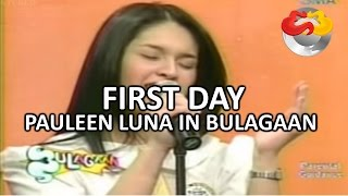 getlinkyoutube.com-Pauleen Luna's First Day on Eat Bulaga!