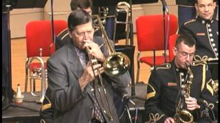 "getlinkyoutube.com-Dave Steinmeyer with the Army Blues ""I'm Getting Sentimental"""