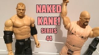 getlinkyoutube.com-WWE ACTION INSIDER: Co-KANE Mattel Superstars Basic Series 44 Wrestling Figure Toy