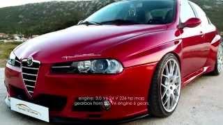 getlinkyoutube.com-Alfa Romeo 156 WTCC Replica & GTV Cup Replica Stile Italia Democar V6 Busso