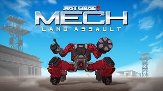 Just Cause 3 - Mech Land Assault Launch Trailer