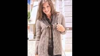 getlinkyoutube.com-вязание спицами для женщин кардиганы