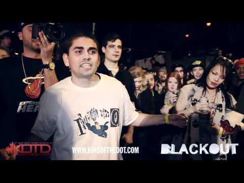 KOTD - Rap Battle - PoRich vs Illusion Z