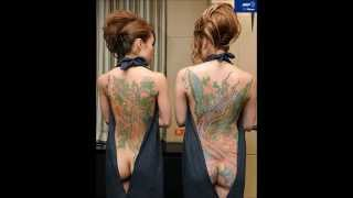 【必見】Tattoo Japanese beauty入れ墨美日本人美女!