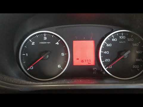 Mitsubishi Triton service light reset 2017