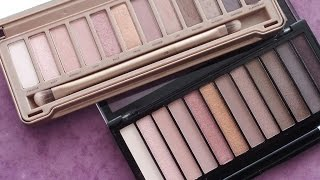 getlinkyoutube.com-Comparación Naked 3 con Iconic 3 (Makeup Revolution)
