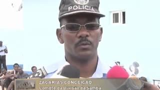 Policia apresenta grupo de supostos marginais | Primeiro Jornal | TV Zimbo |