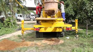getlinkyoutube.com-รถขุดบ่อน้ำตื้น โทร.0818978848