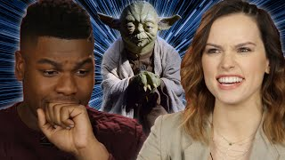 """Star Wars Cast Takes """"Which Star Wars Character Are You?"""" Quiz"""