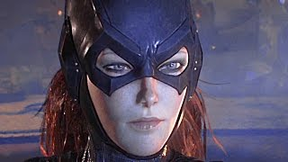Batman Arkham Knight BATGIRL All Cutscenes Gameplay