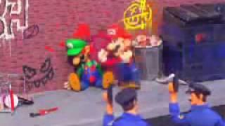 getlinkyoutube.com-Mario & Luigi Get into Vice City