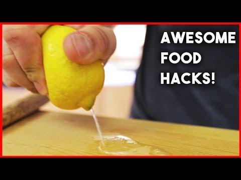 6 FOOD HACKS