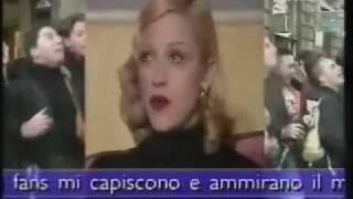 "Madonna talks about ""Body of Evidence"" - 1992 RAI1"