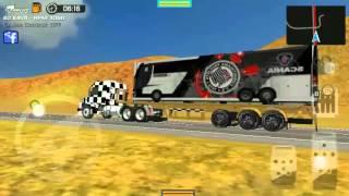 Grand Truck Simulator Puxando o Ônibus do Timão