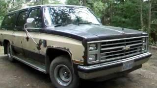 getlinkyoutube.com-1986 Chevrolet Suburban Silverado 6.2 Diesel - SOLD
