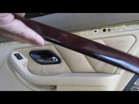 Как снять обшивку задней двери на BMW e39