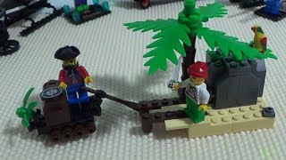 getlinkyoutube.com-enlighten 보물섬과 해적왕 미니 피규어 레고 짝퉁 장난감 구입 조립기