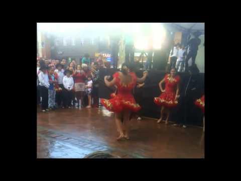 Joropo al parque- Pareja de baile Juan Arango, Marilyn Sierra