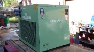 How refrigerated compressed air dryers work