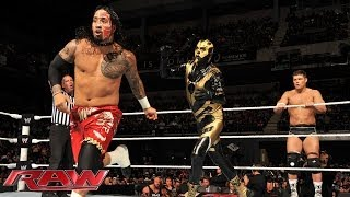 The Usos vs. Cody Rhodes y Goldust: Raw