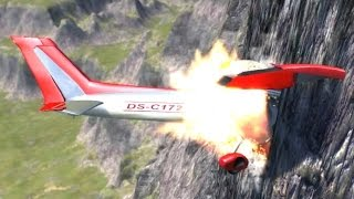 Explosive Plane Crashes - BeamNG.drive