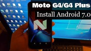 getlinkyoutube.com-Moto G4/G4 Plus Install Official Android 7.0 Nougat (Soak Test)