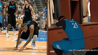 getlinkyoutube.com-NBA 2k17 MyCAREER - Scoring 90 Points Combined with Big OK3! DeadlyTriple Ankle Breakers! Ep. 118