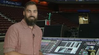 getlinkyoutube.com-Kenny Kaiser, Front of House Engineer, The Killers