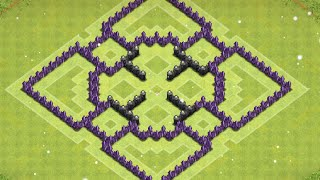 getlinkyoutube.com-CLASH OF CLANS TH7 FARMING BASE - The Motor [2015]