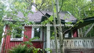 getlinkyoutube.com-Abandoned Cabin Lost in Time 25 year Untuouched Time Capsel