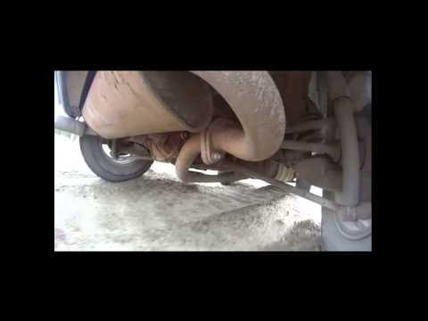 Toyota Rav4 SONY HDR AS30V работа подвески