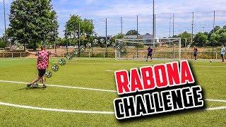 TWISTY RABONA FUßBALL CHALLENGE | LOCOFLOKI