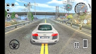 Drift Simulator Audi R8 Sports / Car Racing Games / Android Gameplay FHD width=