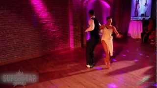 getlinkyoutube.com-Salsa Superstar Showcase: Delia and Rasove from Yamuleé