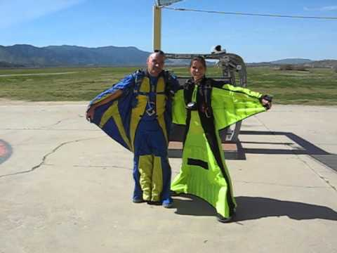 Wingsuit a-Go Go ~ The Beginning