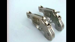 "getlinkyoutube.com-Homemade pistol ""Matches pistol"" Made in China !---7"