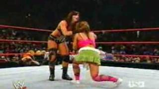 getlinkyoutube.com-Mickie vs Victoria (#1 Contender's Match)