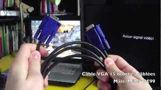 getlinkyoutube.com-Comment brancher son ordinateur sur sa télé