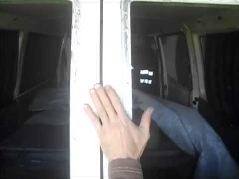 Куда приклеить стекло? Т4