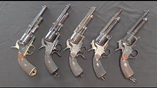 getlinkyoutube.com-LeMat Grapeshot Revolvers: Design Evolution
